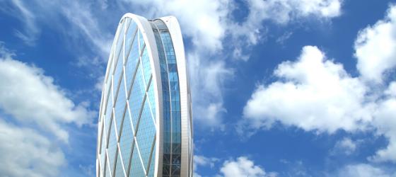 edificios majestuosos de hormigón prefabricado