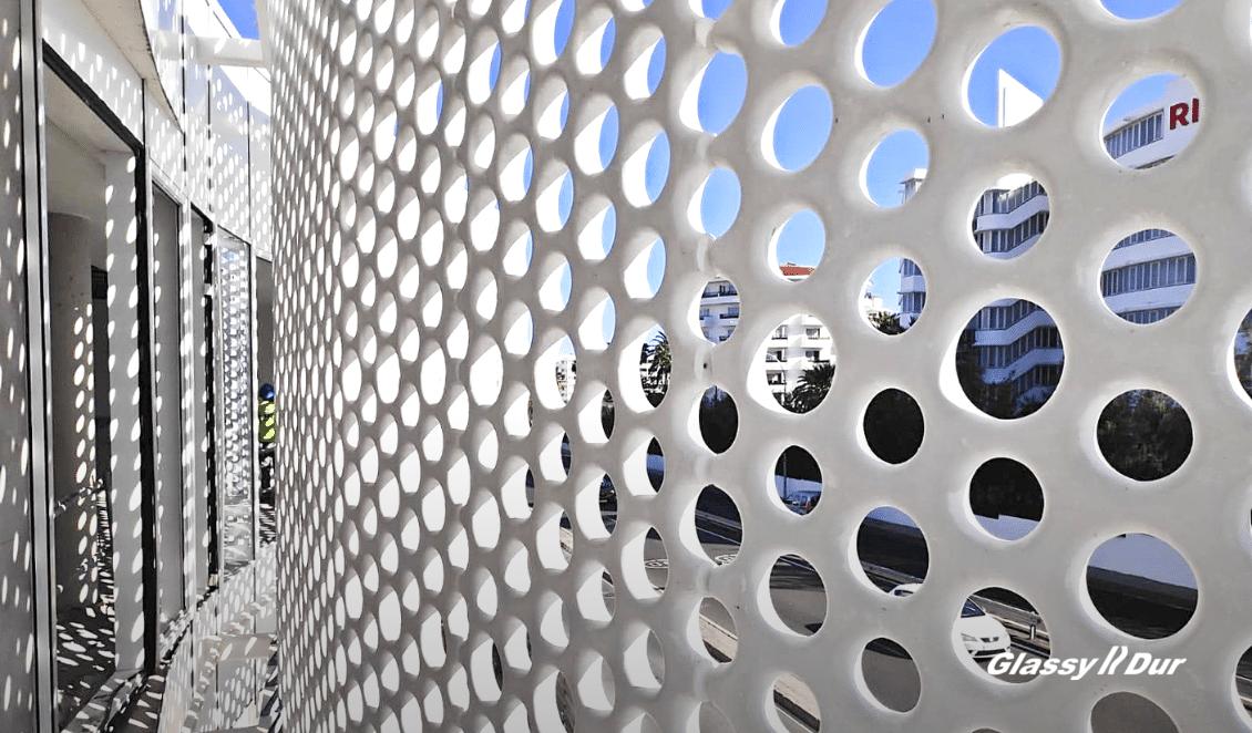 la luz en la arquitectura GlassyDur